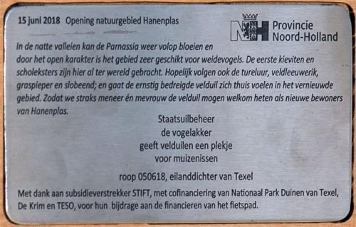 project 168 informatieplaatje Hanenplas